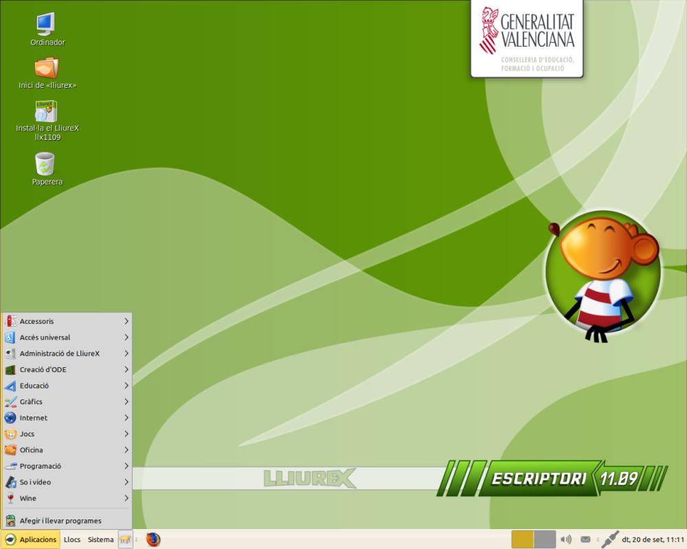 LliureX - Linux para sistemas educativos (2/2)
