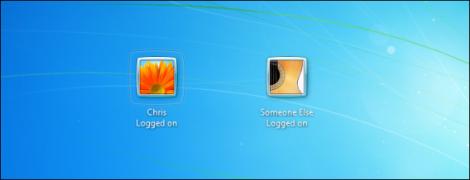 Dos usuarios conviven en el mismo PC con Windows 7