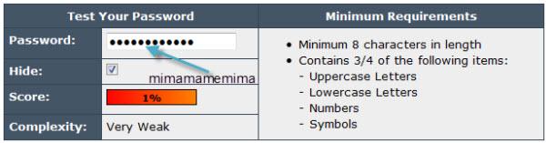 PasswordMeter.com ayuda a verificar la seguridad de tu contraseña